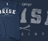 Waterford Deise Vintage Hurling T-Shirt