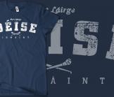 Waterford Deise Vintage Hurling T-Shirt