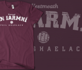Westmeath Vintage Gaelic Football T-Shirt