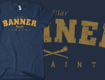 Vintage Clare Hurling T-shirt