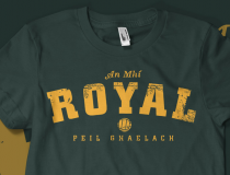 Vintage Meath 'Royal' Gaelic  Football T-shirt