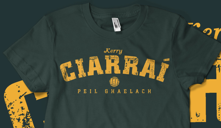 Vintage Kerry Gaelic Football T-shirt