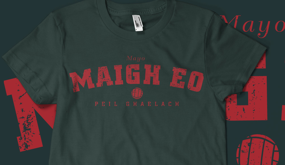 Vintage Mayo Gaelic Football T-shirt